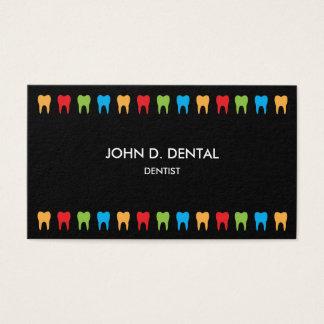 Zahnarzt, zahnmedizinisches Geschäft oder Visitenkarte