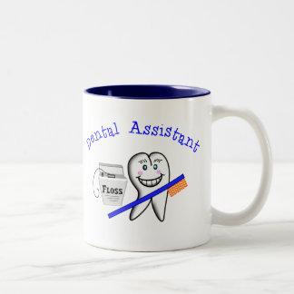 Zahnarzthelfer-Geschenke Zweifarbige Tasse