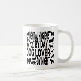 Zahnarzthelfer-Hundeliebhaber Kaffeetasse