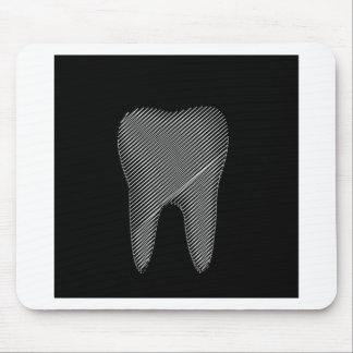 Zahngraphik für Zahnarzt Mousepad