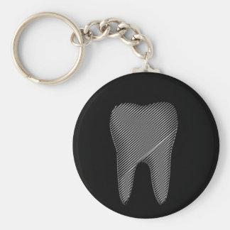 Zahngraphik für Zahnarzt Schlüsselanhänger