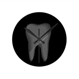 Zahngraphik für Zahnarzt Uhren