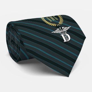 Zahnheilkunde-beruflicher Symbol-Schiefer Bedruckte Krawatten