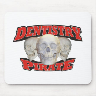 Zahnheilkunde-Pirat Mauspad