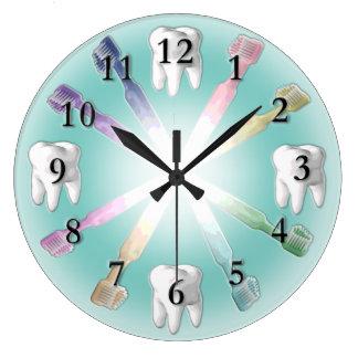 Zahnmedizinische Uhr mit veränderbarer