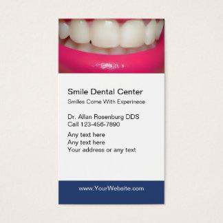 Zahnmedizinische Visitenkarten