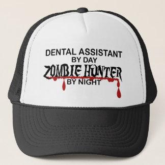 Zahnmedizinischer Asst Zombie-Jäger Truckerkappe