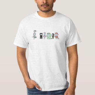 Zahnmedizinischer Halloween-T - Shirt