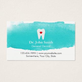 Zahnmedizinischer Visitenkarte