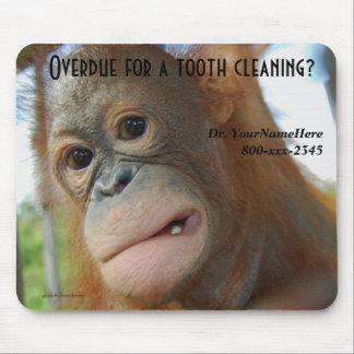 Zahnmedizinisches Hygiene-Zahnarzt-Büro Mousepad