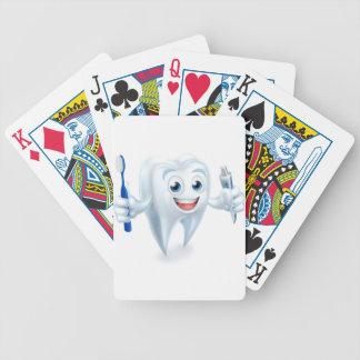 Zahnmedizinisches Maskottchen Bicycle Spielkarten