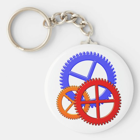 zahnräder pinion toothed wheel schlüsselanhänger