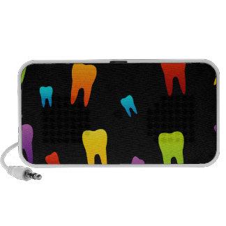 Zahntapete für Zahnarzt Mp3 Lautsprecher
