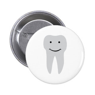 Zahnzahnarzt-Lächelnzähne Runder Button 5,7 Cm