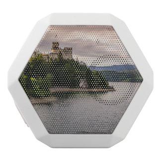 Zamek Niedzica, Schloss durch Sunset See Weiße Bluetooth Lautsprecher