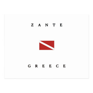 Zante Griechenland Postkarte
