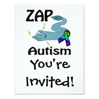 ZAP Autismus 10,8 X 14 Cm Einladungskarte