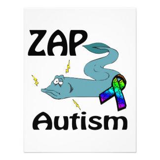 ZAP Autismus Einladungskarten
