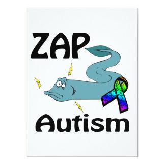 ZAP Autismus 16,5 X 22,2 Cm Einladungskarte