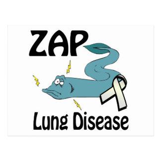 ZAP Lungen-Erkrankung Postkarte