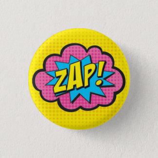 ZAP! Superhero-Button GV2 Runder Button 3,2 Cm