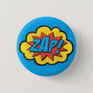 ZAP! Superhero-Button PC Runder Button 3,2 Cm