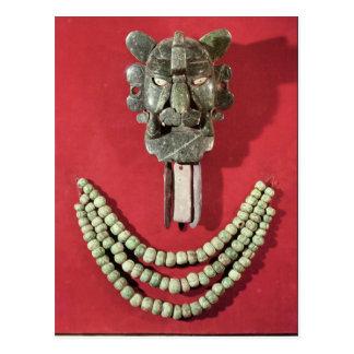 Zapotec Brust die Form der Maskendarstellung Postkarte