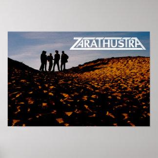 Zarathustra Band-Plakat Poster