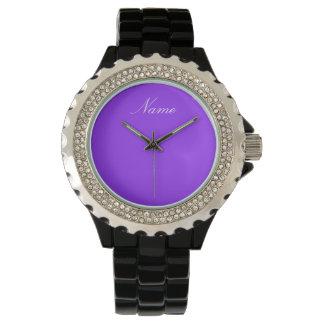 ZAUBER   addieren Ihren Namen Armbanduhr