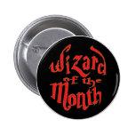 Zauberer des Monats Anstecknadelbuttons