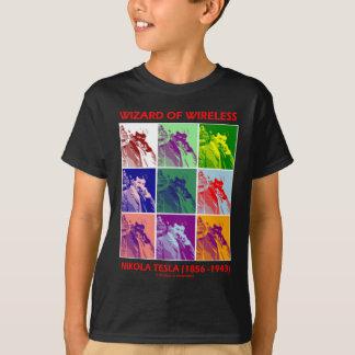 Zauberer des Radioapparates (Nikola Tesla neun T-Shirt