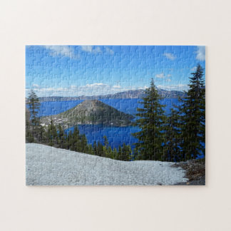 Zauberer-Insel-Crater See Oregon Puzzle