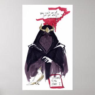 Zauberer-König Emo I Plakat