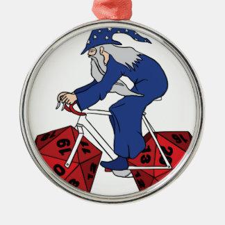 Zauberer-Reitfahrrad mit 20 mit Seiten versehenen Rundes Silberfarbenes Ornament