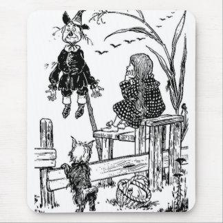 Zauberer von Oz Dorothy Toto und die Vogelscheuche Mousepad