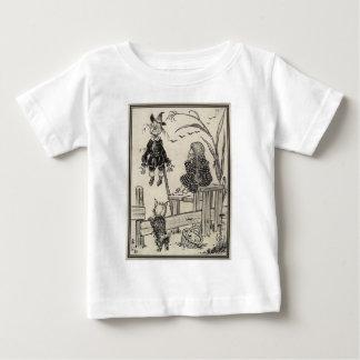Zauberer von Oz Dorothy und die Vogelscheuche Baby T-shirt