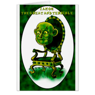 Zauberer von Oz Karte