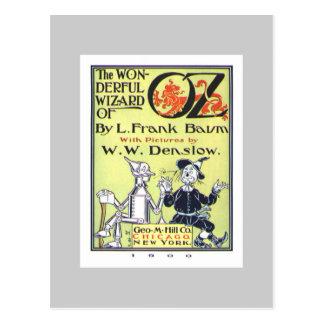 Zauberer von Oz Postkarte