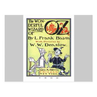 Zauberer von Oz Postkarten