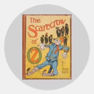 Zauberer von Oz Runde Aufkleber