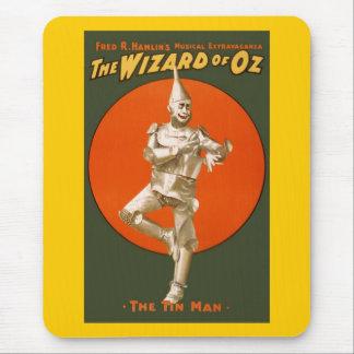 Zauberer- von Ozzinn-Mann - Vintages musikalisches Mousepads