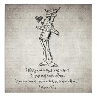 Zauberer- von Ozzitat Acryldruck