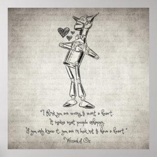 Zauberer- von Ozzitat Poster
