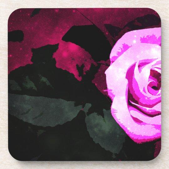 Zauberhaftes Rosen-Design Untersetzer