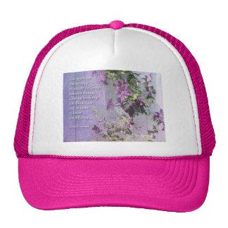 Zaun-Blumen Kappe