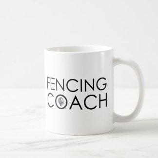 Zaun des Trainers Kaffeetasse