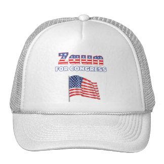 Zaun für Kongress-patriotische amerikanische Flagg Trucker Cap