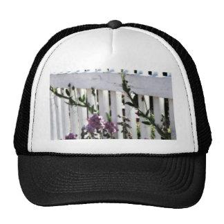 Zaun und Blume Netz Caps