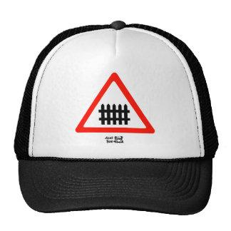 Zaun-Verkehrsschild Kult Cap