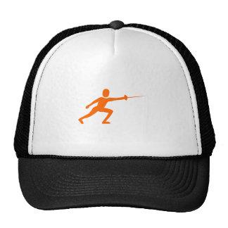 Zaun Zahl - Orange Tuckercaps